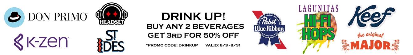 Drink Up Promo Banner