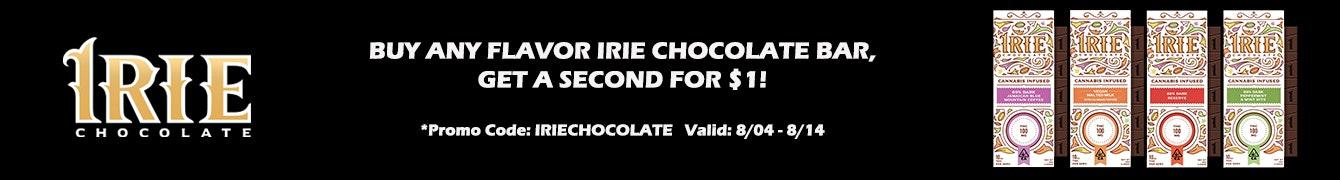 Irie Chocolate Promo Banner